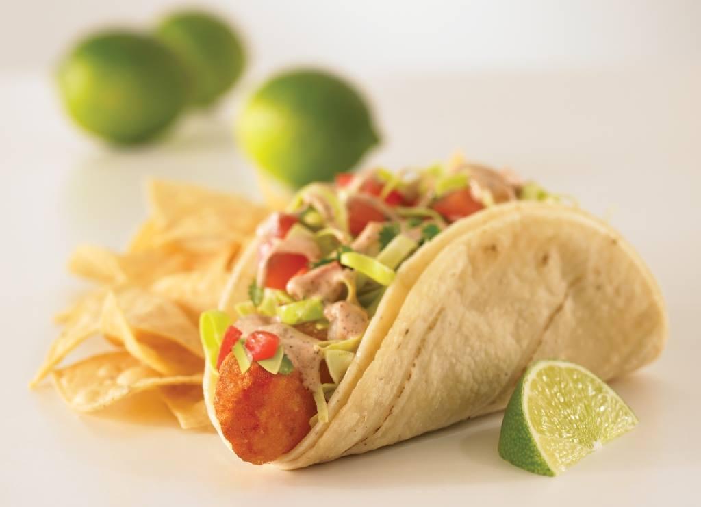 Baja Fresh taco