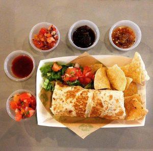 Baja Fresh franchise Burrito