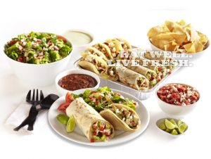 Baja Fresh franchise Burrito Tortilla Salsa