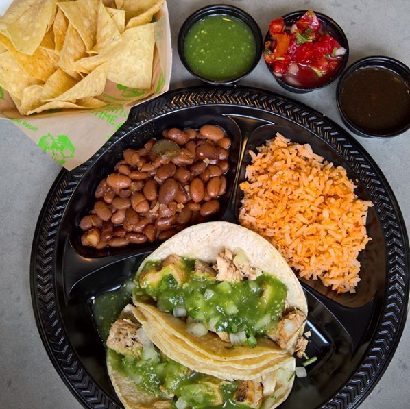 Healthy food by Baja Fresh