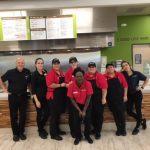 Baja Fresh restaurant staff