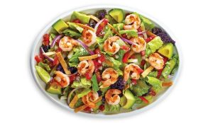 Baja Fresh franchise Shrimp and Vegetable Salad