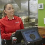 fresh food franchise worker